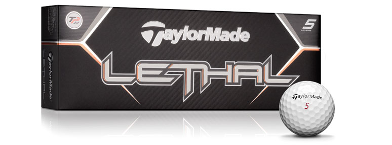 TaylorMade Lethal Golfball