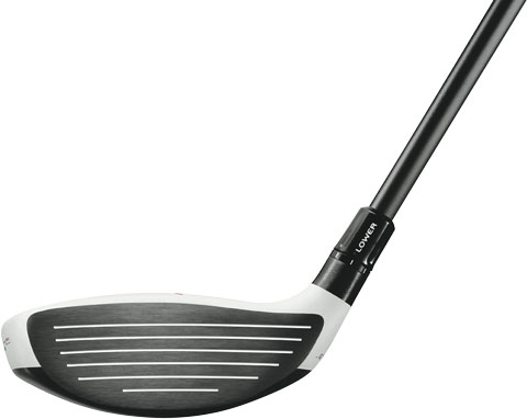 TaylorMade R11-S Fairway Wood Face View