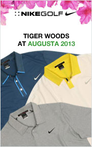 Tiger Woods Augusta Collection 2013
