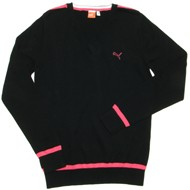 Puma Women's Golf Cotton Solid Sweater